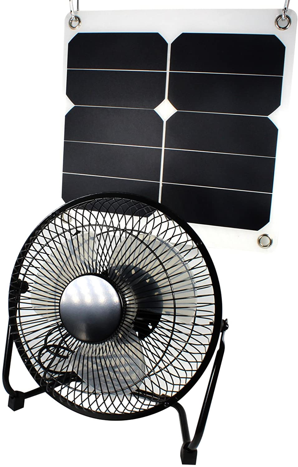 Best Solar Powered Fan in 2020 Review and Guide