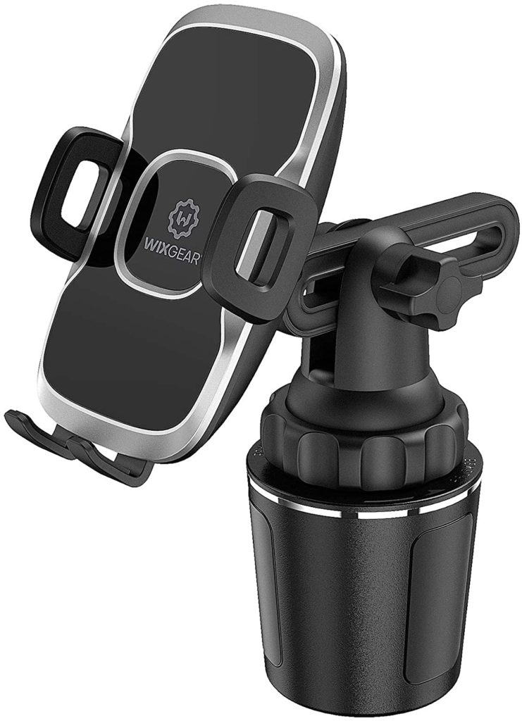 WixGear Car Adjustable Smart Automobile Phone Mount Cradle Cup Holder