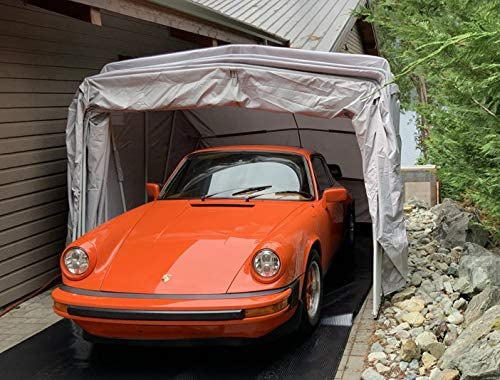 Ikuby Car Shelter All Weather  Carport Canopy