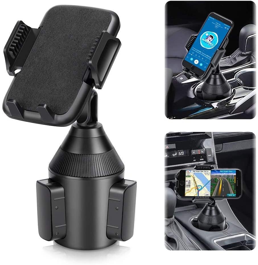 LEPSO Car 2020 Upgraded Mount Phone Adjustable Cup Holder