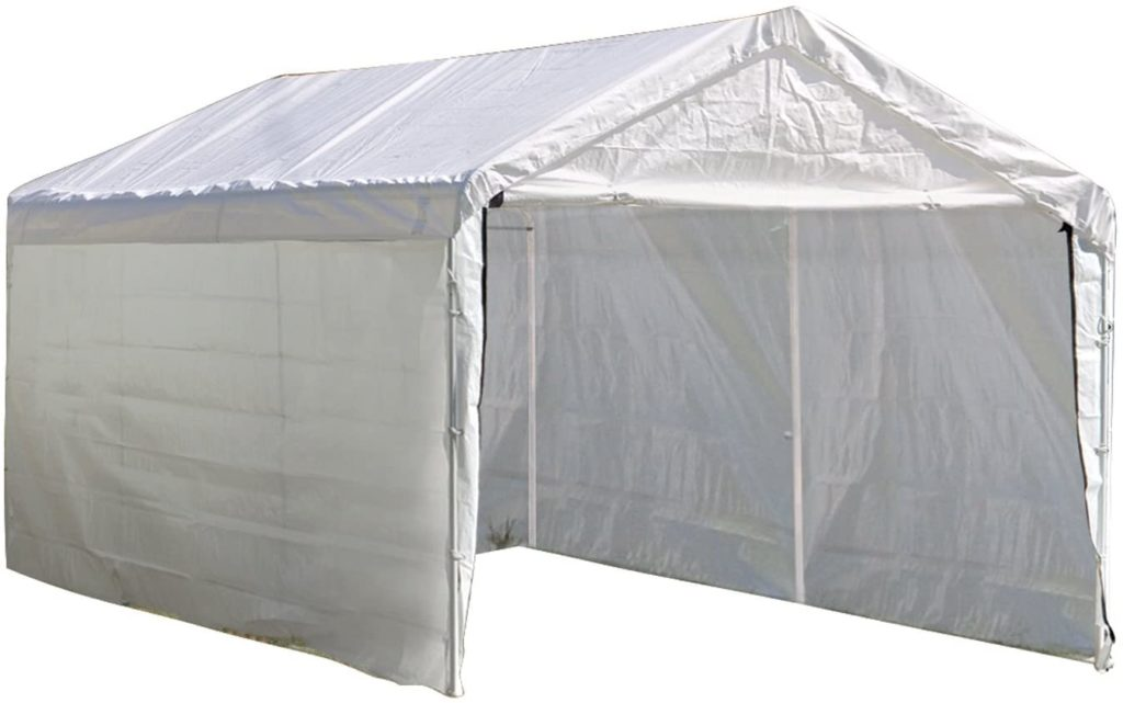 ShelterLogic MaxAP Car Enclosure Kit Canopy