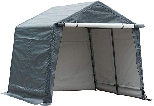 Abba Patio Rollup Grey Shed Canopy