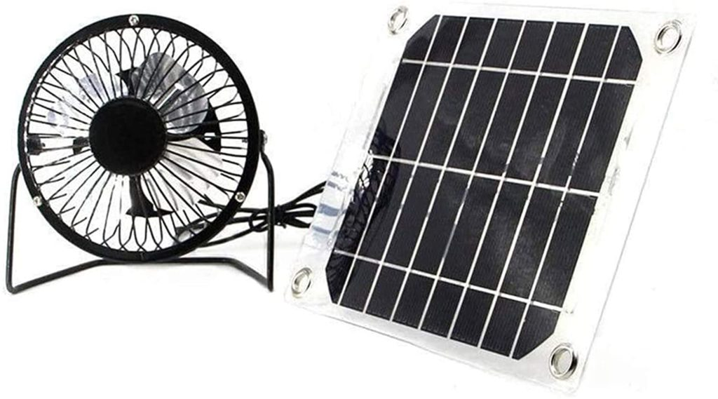 TwinPa Auto Car Camping Cool Solar Outdoor Household Powered System Fan