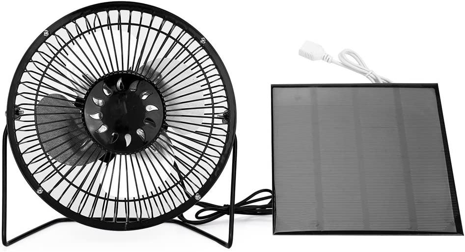 Yosooo 4.5W Cooling Ventilation USB Solar Home Panel Powered Office Portable Car Fan