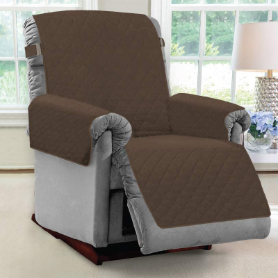 IGHTY MONKEY Taupe Premium Reversible Push Back Slip Cover Protector Seat