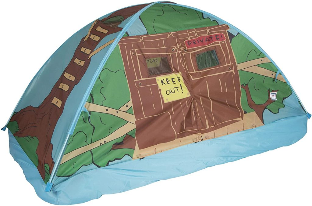 Pacific Play Tents Playhouse Twin House Bed Kids Tree Tent