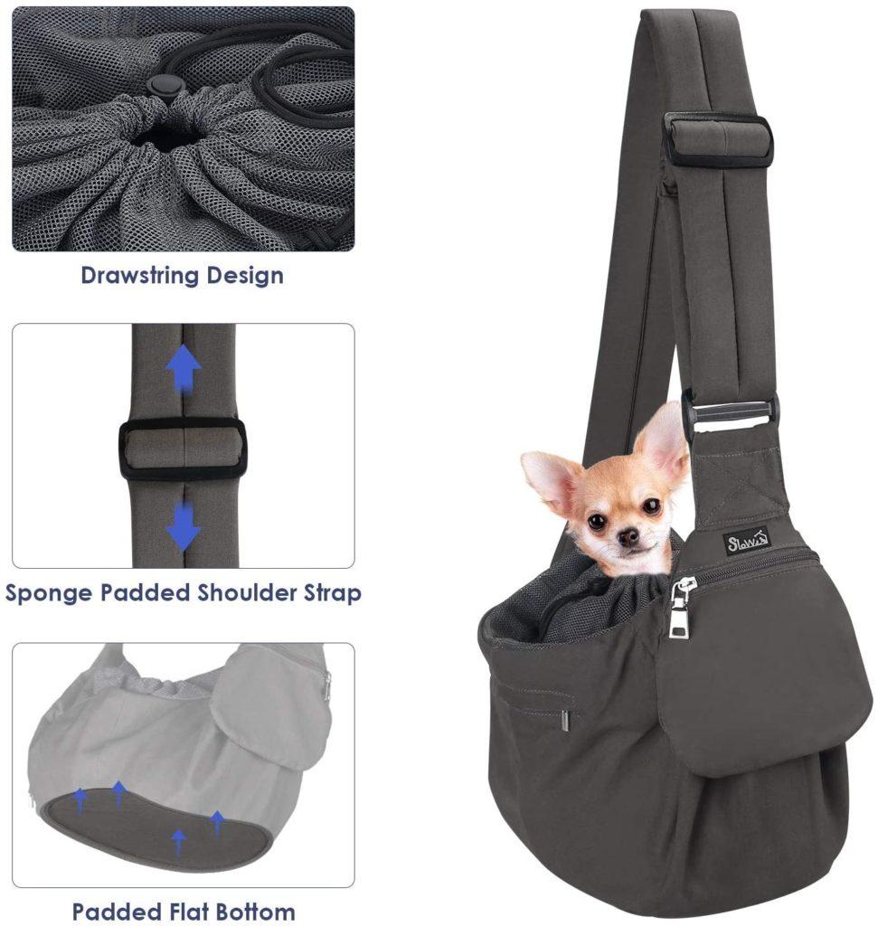 SlowTon Pad Strap Safety Belt Small Dog Puppy Cat Pet Hard Bottom