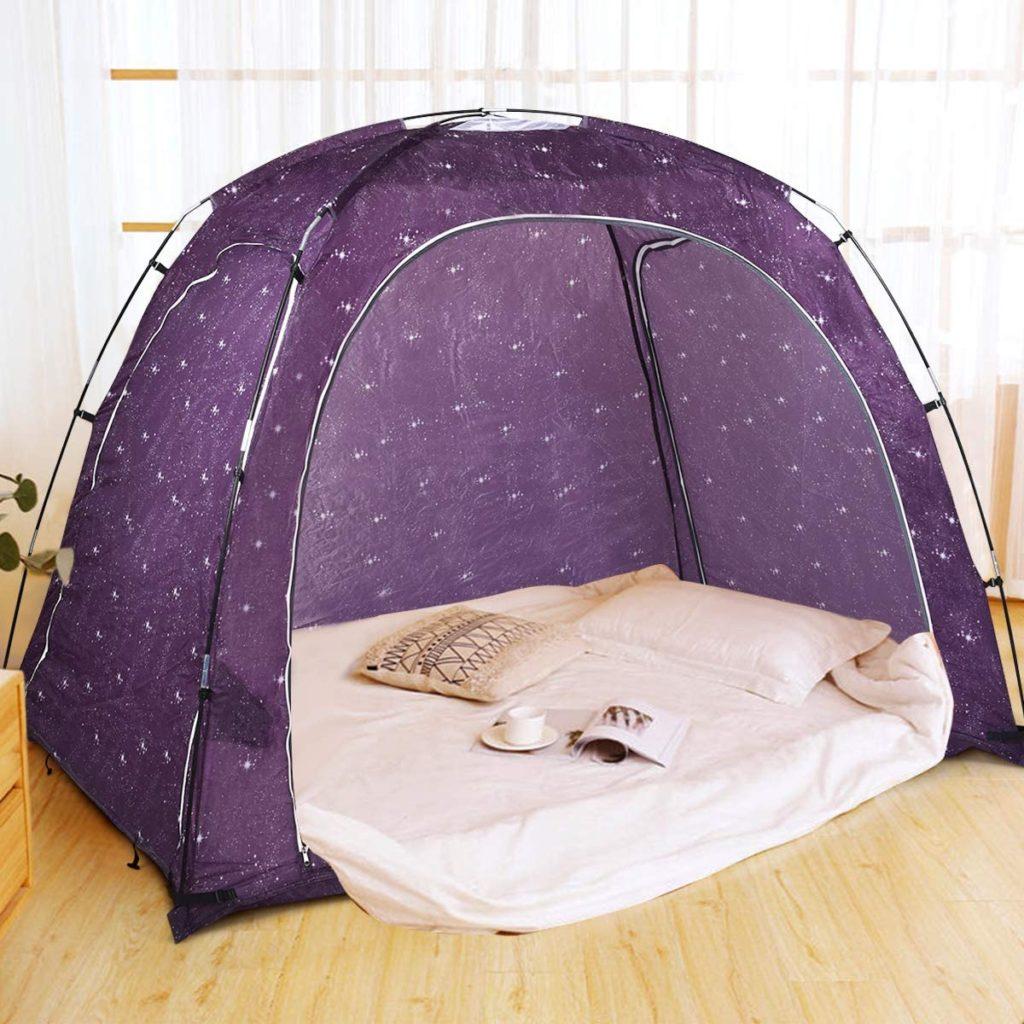 Goplus Drafty Portable Adult Full Canopy Room Cozy Sleep Play Indoor